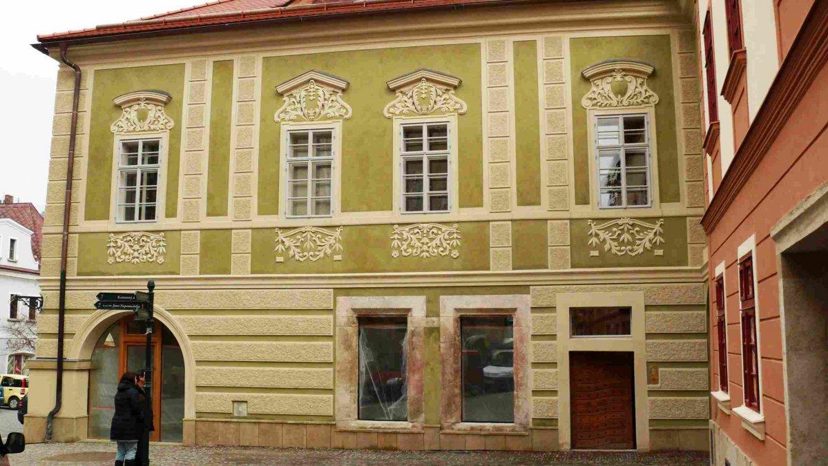 Dačického dům v Kutné Hoře - památka UNESCO